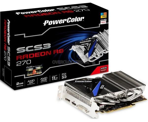 Карта памяти без пропеллеров: PowerColor SCS3 Radeon R9 270
