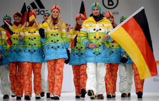 ТОП-5 самых стильных спортивных костюмов на Олимпиаде в Сочи