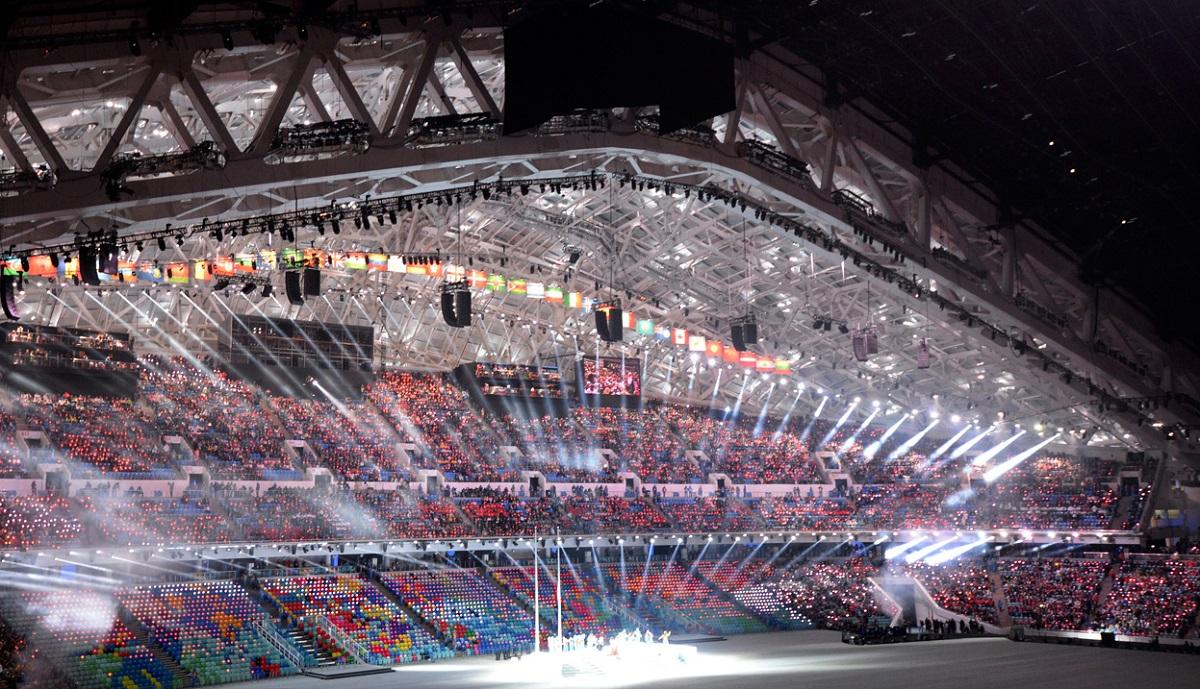 Ослепительные фото с процедуры открытия Олимпийских игр 2014 (ФОТО)