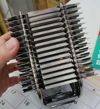 Инертный CPU-охладитель Zalman FX70  в отдельной реализации