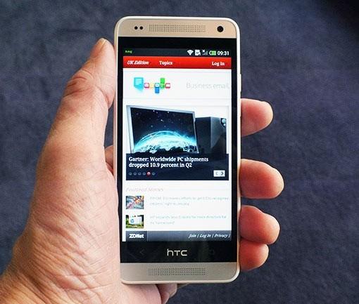 Ориентировочные специфики: HTC М8 min