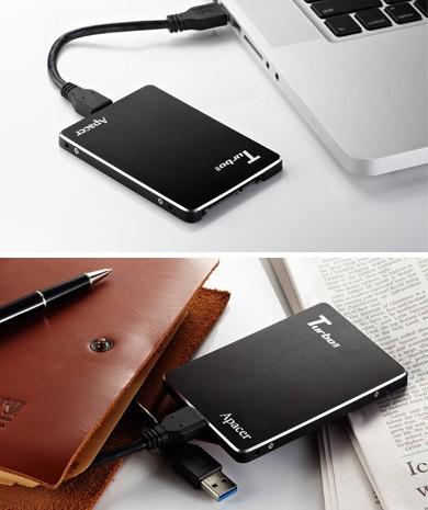 Первый внешний SSD с интерфейсами SATA III и USB 3.0