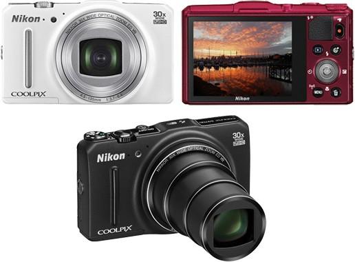 Тонкий 16 Мп цифрокомпакт с 30х зумом: Nikon Coolpix S9700