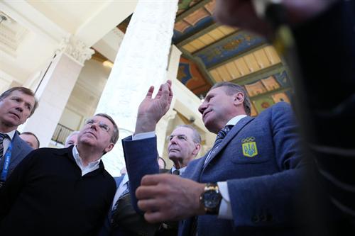 В Сочи торжественно отметили День Украины (ФОТО)