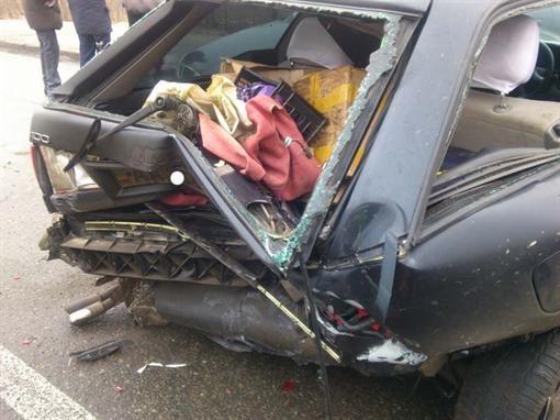 В Киеве водитель авто умер за рулем и спровоцировал аварию