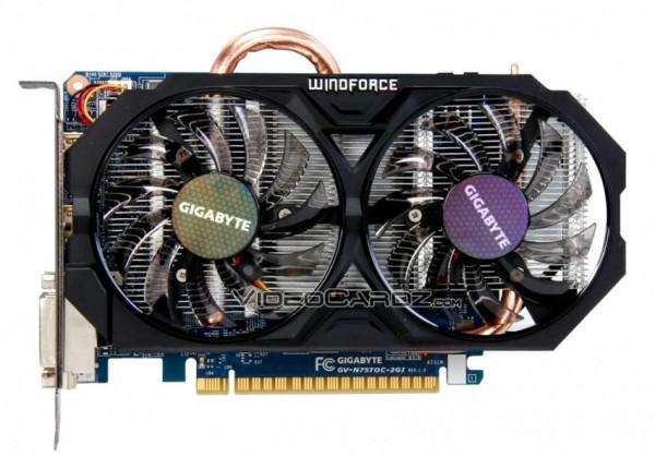 Разогнанные версии видеокарт GeForce GTX 750 Ti и GTX 750