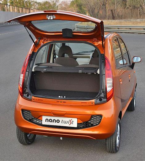 У Tata Nano появилась крышка багажника