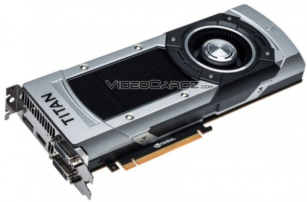 Кулер NVIDIA GeForce GTX Titan Black