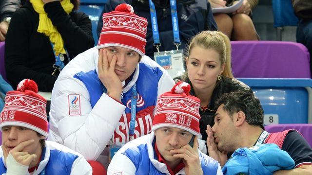 Овечкин и Кириленко посетили соревнования фигуристов