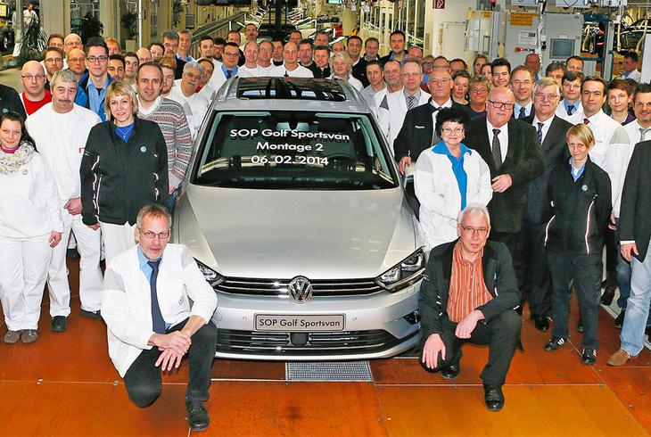 Volkswagen приступил к производству минивэна Sportsvan