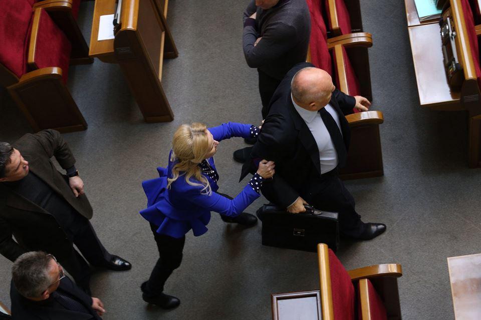 Фарион инициировала драку с регионалом Самойленко (ФОТО)