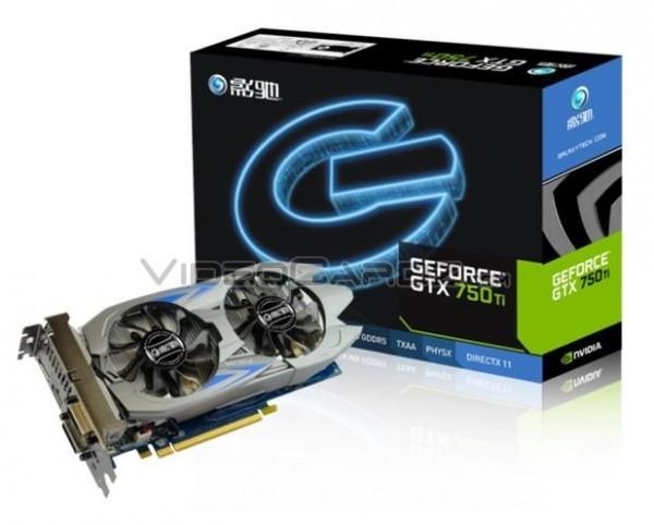 Galaxy представила адаптер GeForce GTX 750 Ti