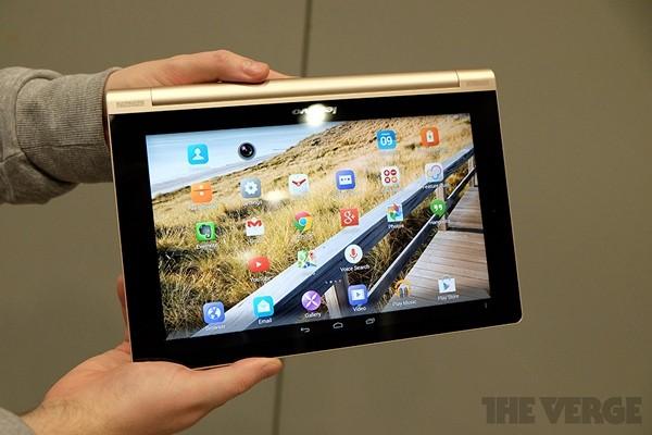 Анонс долгоиграющего планшета Lenovo Yoga Tablet 10 HD+