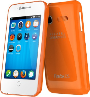 Alcatel OneTouch Fire C/E/S: новые смартфоны на Firefox OS