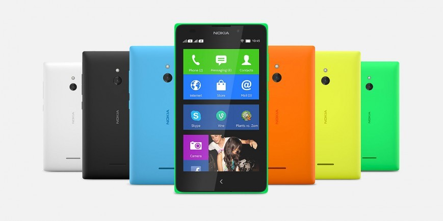 Nokia представила свои первые смартфоны на Android