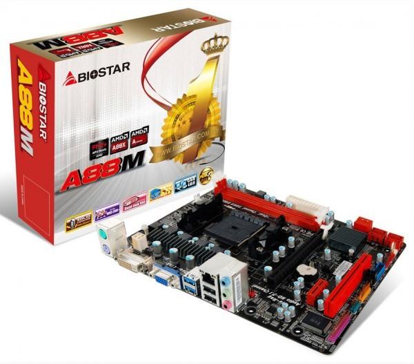 Анонс материнской платы Biostar A88M для APU AMD Kaveri