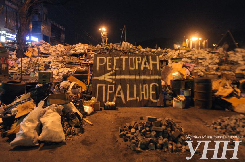 Заведения на Майдане уже возобновляют свою работу (ФОТО)