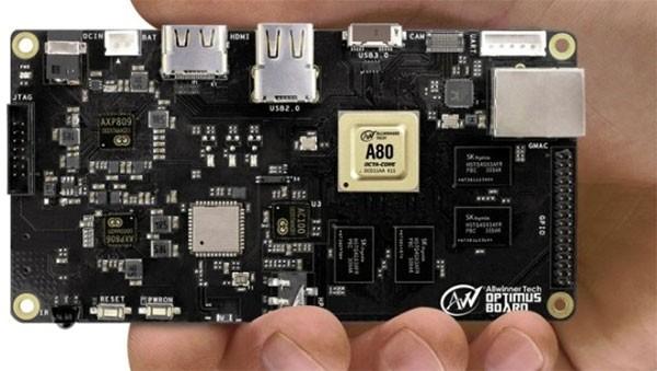Allwinner представил свой 8-ядерный мобильный чип