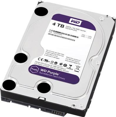 Линейка жестких дисков Purple для систем видеонаблюдения