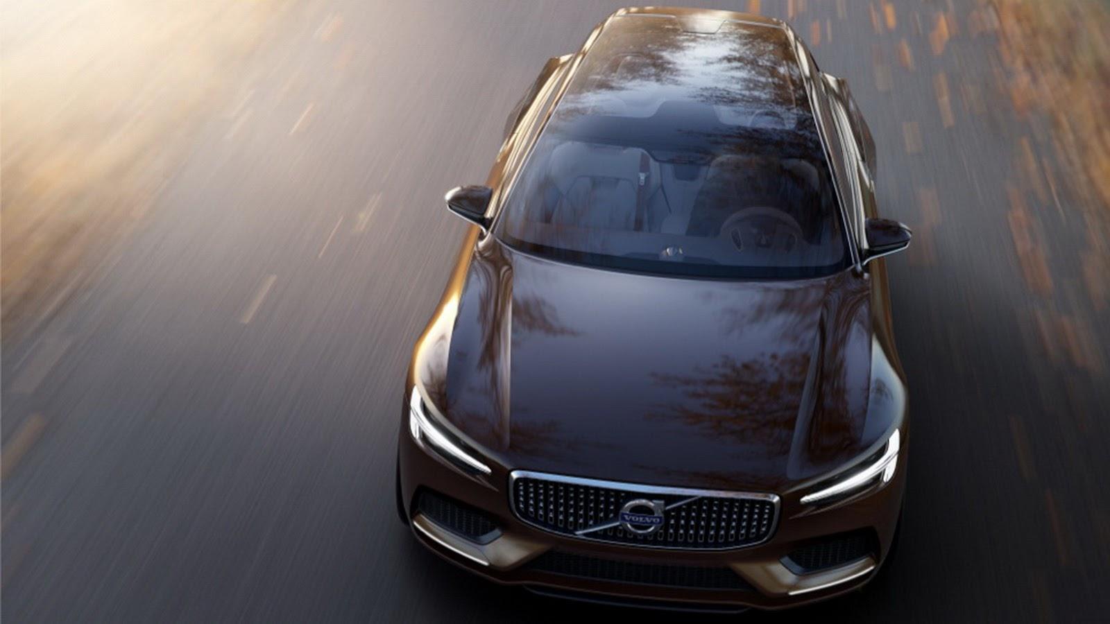 Рассекречен новый концепт-кар Volvo