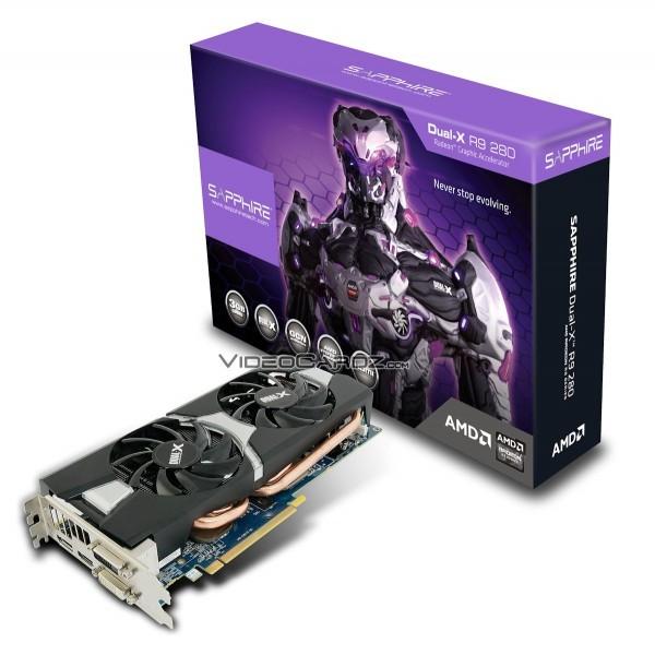 ASUS, Sapphire, XFX: версии будущей видеокарты Radeon R9 280