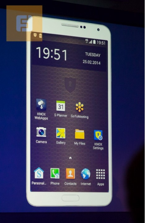 Samsung Knox на MWC 2014