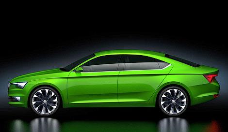 Skoda представила «пятидверное купе» VisionC