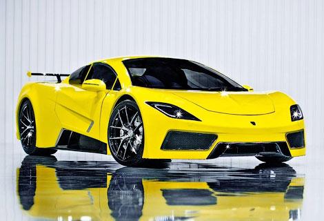 Британская компания Arash Cars представила суперкар AF-8