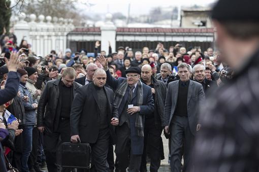 Жириновский обещал Крыму российский газ и туристов (ВИДЕО)