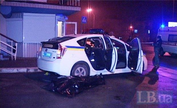 В Киеве ночью расстреляли троих инспекторов ГАИ (ФОТО)