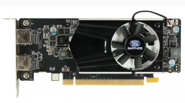 Бюджетная низкопрофильная видеокарта Sapphire Radeon R7 240
