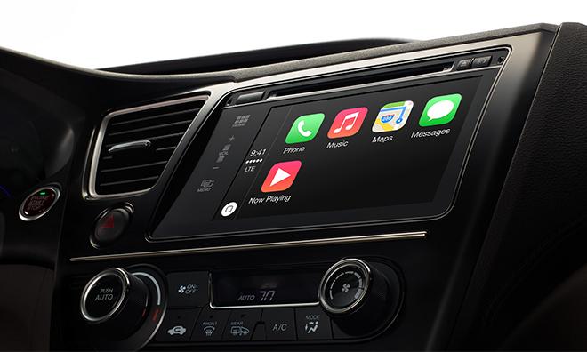 Apple объединила iPhone с автомобилем (ФОТО)