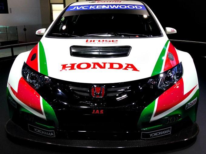 """""""Хонда"""" представила свой новый гоночный автомобиль. ФОТО"""