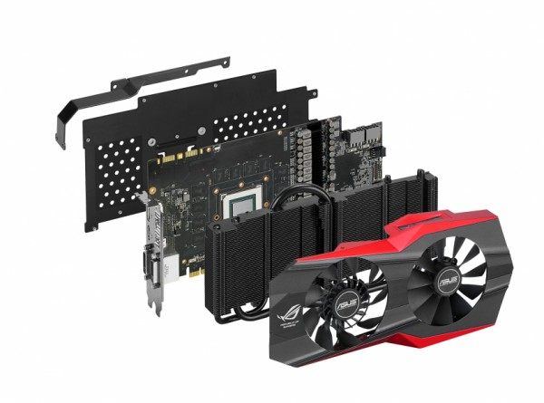 Видеокарты R9 290X и GTX 780 Ti серии ROG Matrix