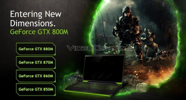 Графика NVIDIA GeForce 800M на выставке CeBIT 2014