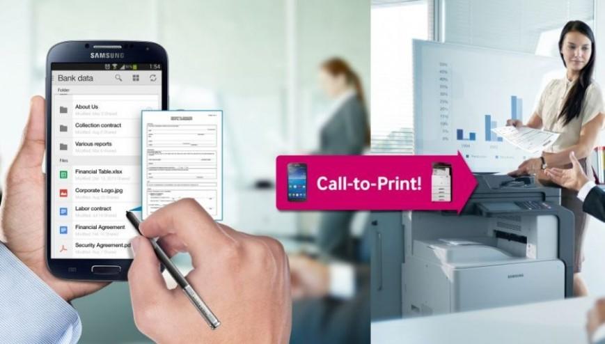 Сервис Cloud Print с улучшенной защитой данных от Samsung