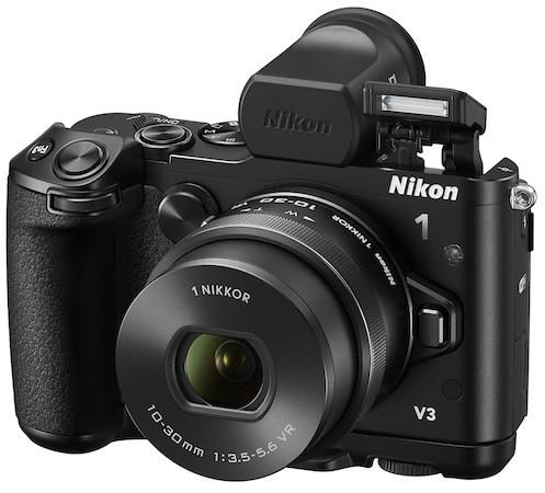18,4 Мп системная камера с Wi-Fi: Nikon 1 V3