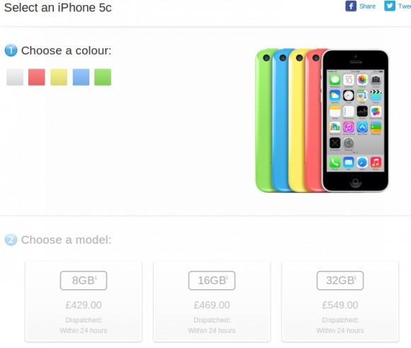 """""""Бюджетный"""" iPhone 5c 8 ГБ  от Apple в Европе"""