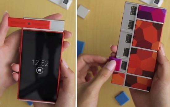 Google рассказала о смартфоне-конструкторе (ФОТО)