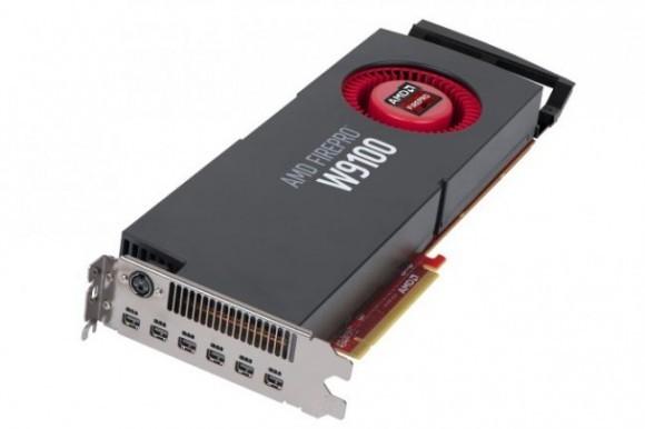Флагманская профессиональная видеокарта FirePro W9100