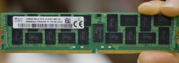 Hynix демонстрирует первый 128-гигабайтный модуль ОЗУ DDR4