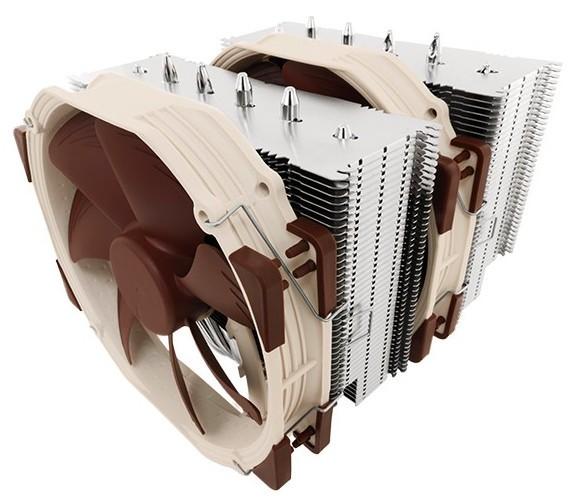 Флагманский двухбашенный процессорный кулер NH-D15 от Noctua