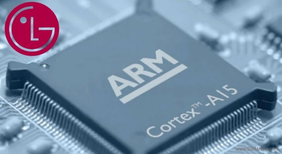Восьмиядерный мобильный процессор LG Odin