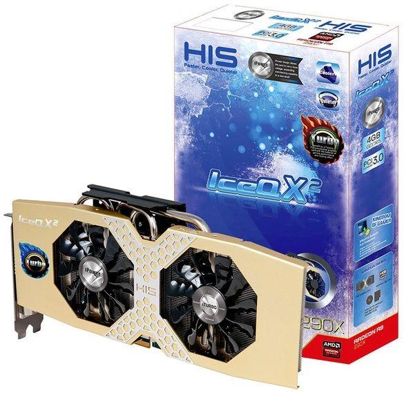Анонс разогнанного ускорителя: HIS R9 290X IceQ X2 Turbo