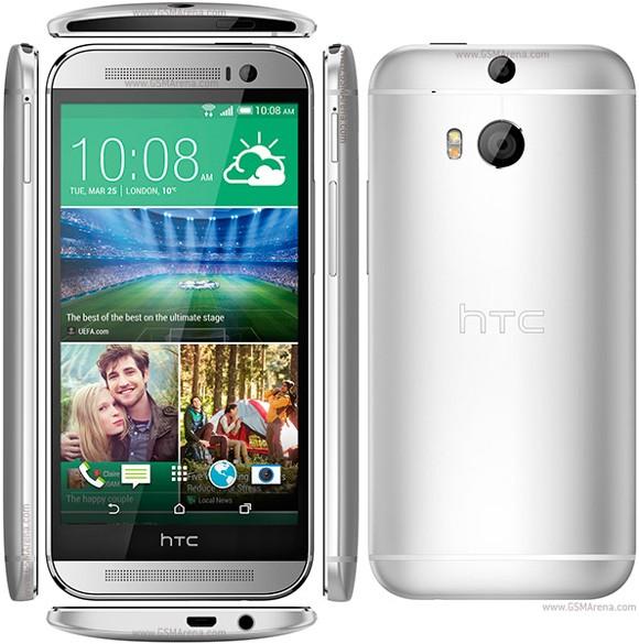 One M8 в пластиковом корпусе от HTC