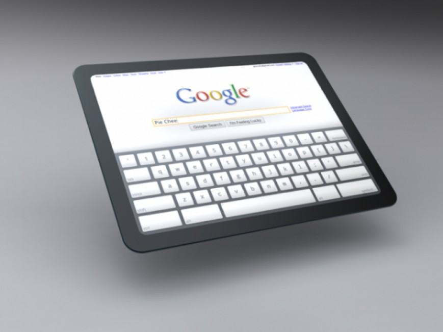 Компания Google намекнула на планшет с Chrome OS