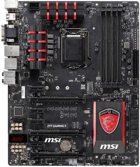 Подробности о материнских платах MSI Z97/H97 Gaming