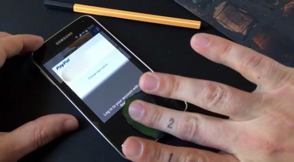 Обманули биометрическую защиту Samsung Galaxy S5