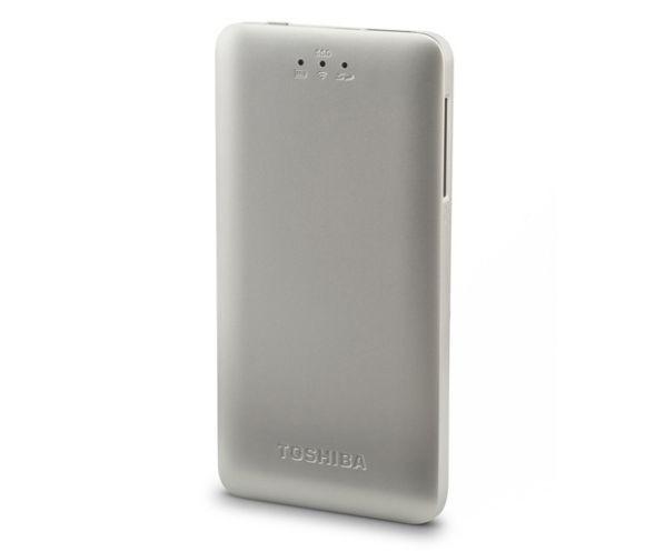 Портативный беспроводной SSD Canvio AeroMobile от Toshiba