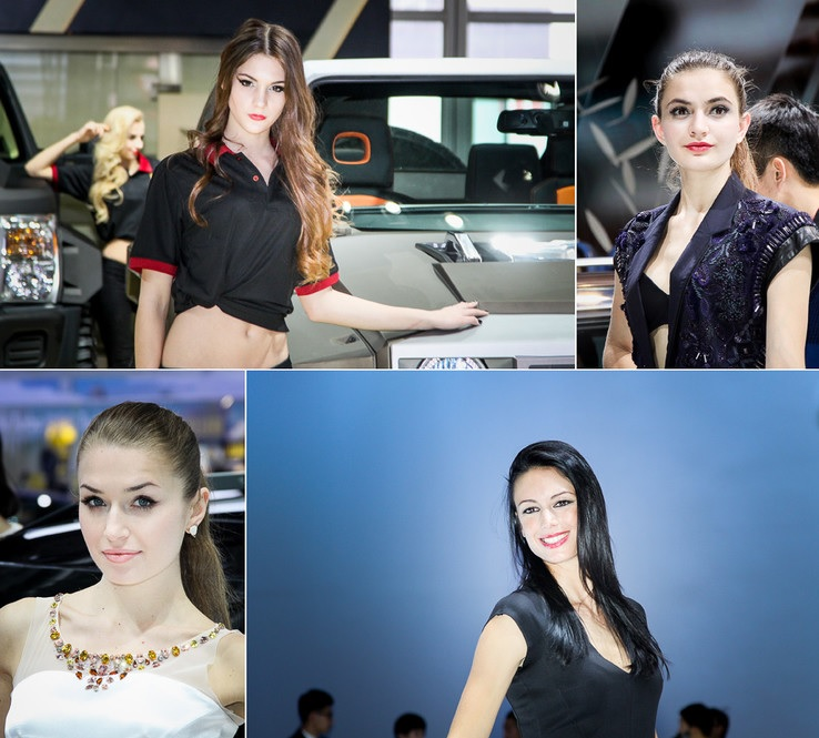 Самые красивые девушки Пекинского автосалона (ФОТО)